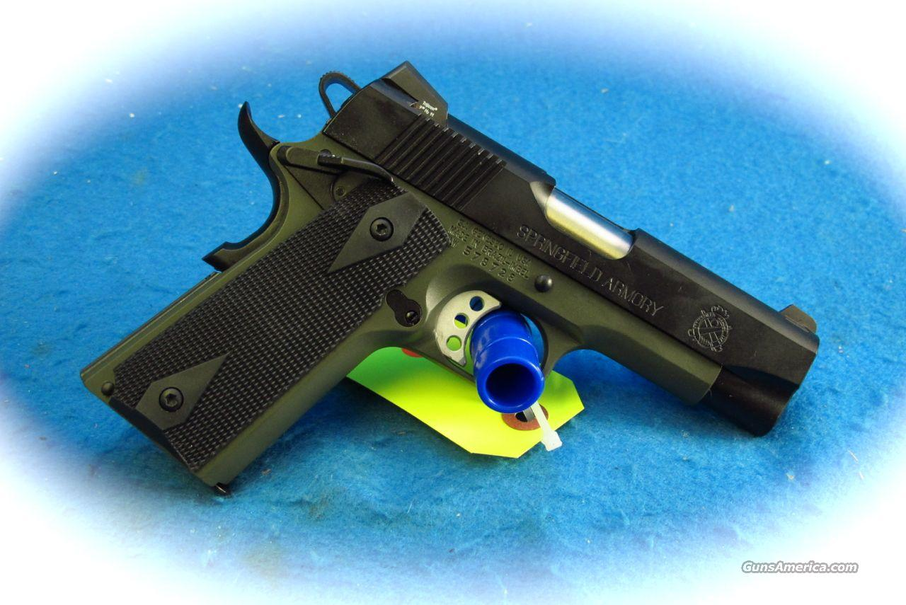 Springfield Armory Loaded Lightweight Champion 1911 .45 ACP Pistol **New**  Guns > Pistols > Springfield Armory Pistols > 1911 Type