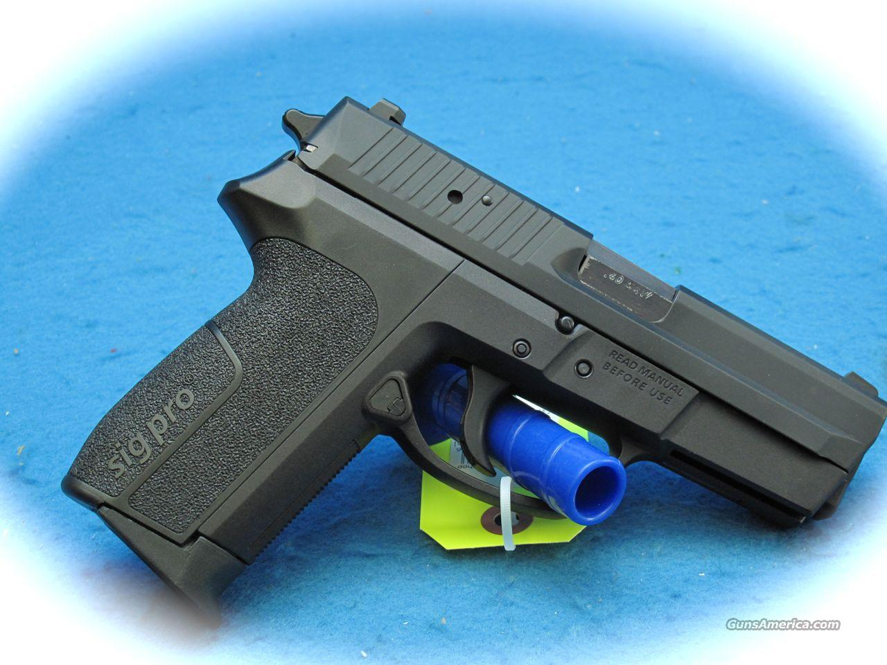 "Sig Sauer Sig Pro 2340 ""Blueline"" Pistol 40 S&W Cal. **Used**  Guns > Pistols > Sig - Sauer/Sigarms Pistols > 2340"