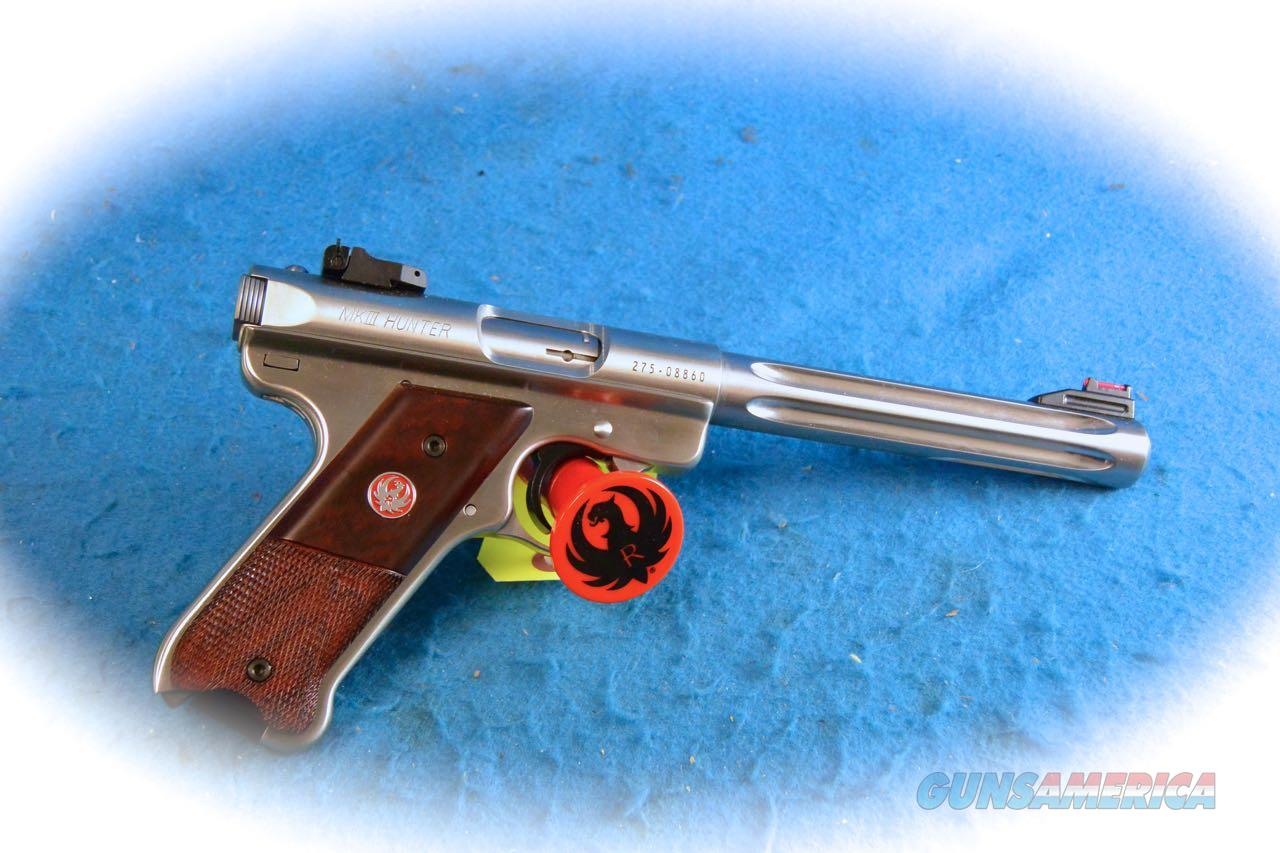 Ruger Mark III Hunter .22LR Pistol Model 10118 **New**  Guns > Pistols > Ruger Semi-Auto Pistols > Mark I/II/III Family