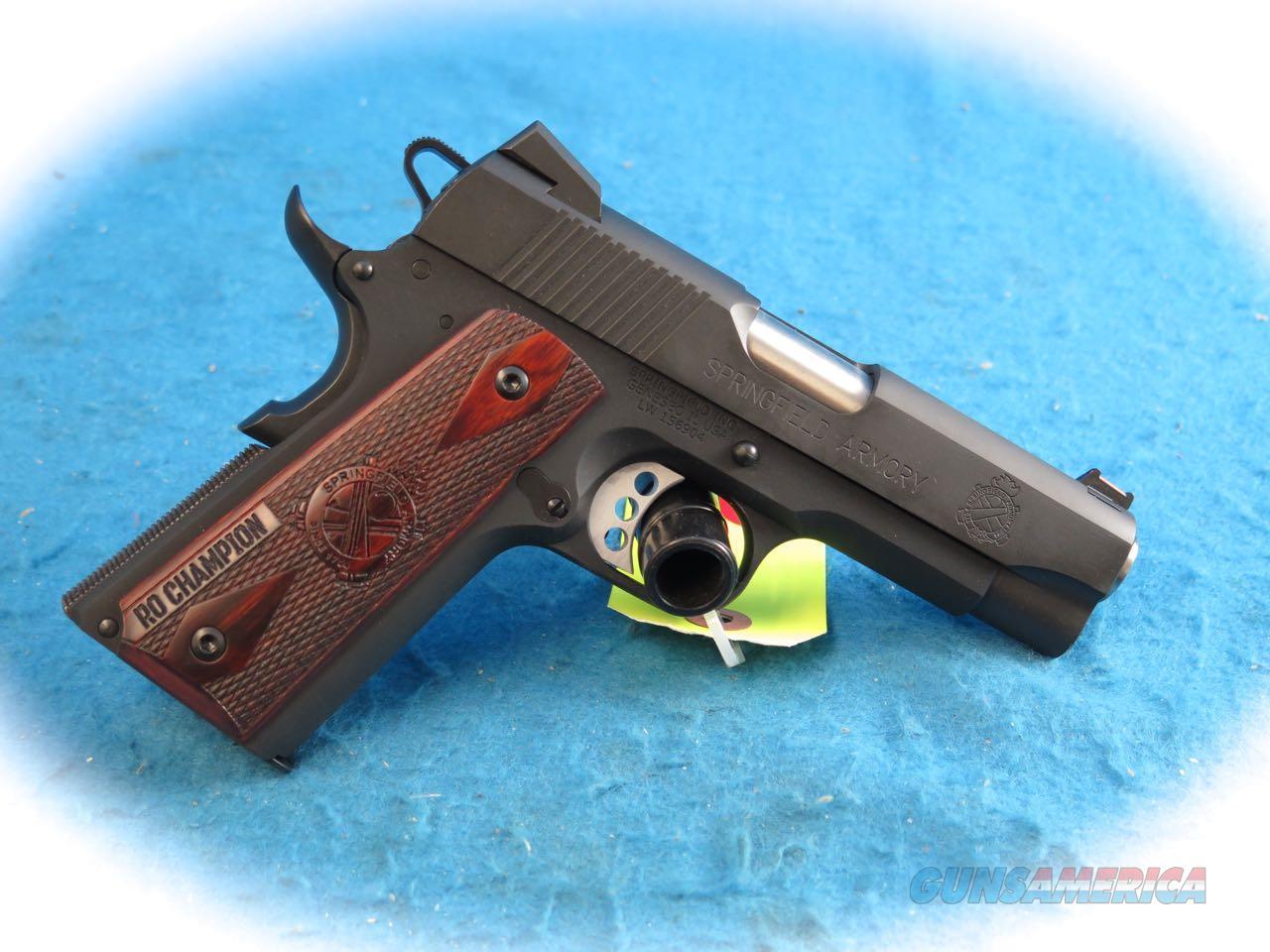 Springfield Armory 1911 Range Officer Champion .45 ACP Pistol Model PI9136L **New**  Guns > Pistols > Springfield Armory Pistols > 1911 Type