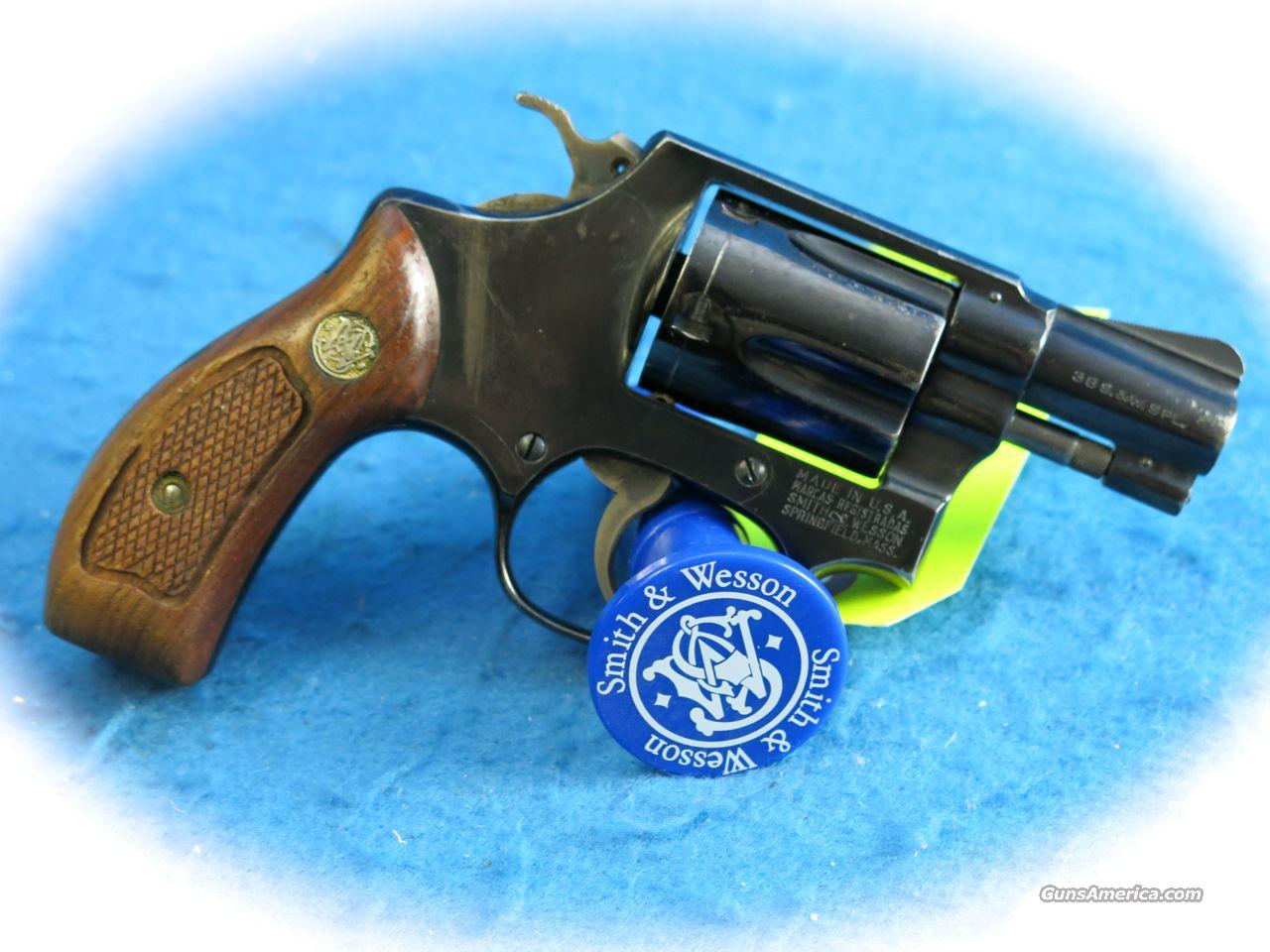Smith & Wesson Model 36 .38 Special 5 Shot Revolver **Used**  Guns > Pistols > Smith & Wesson Revolvers > Pocket Pistols