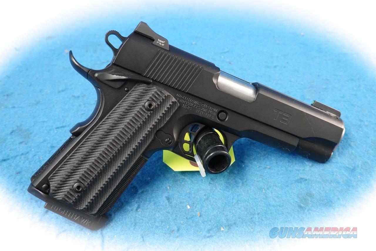 Nighthawk Custom 1911 Model T3 .45 ACP Cal Pistol **Used**  Guns > Pistols > Nighthawk Pistols