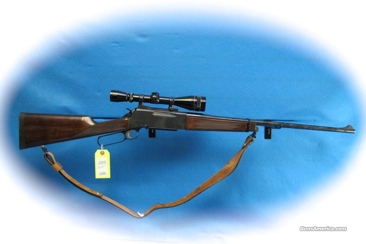 Browning BLR Lever Action 7mm Mag Rifle w/Scope **Used**  Guns > Rifles > Browning Rifles > Lever Action