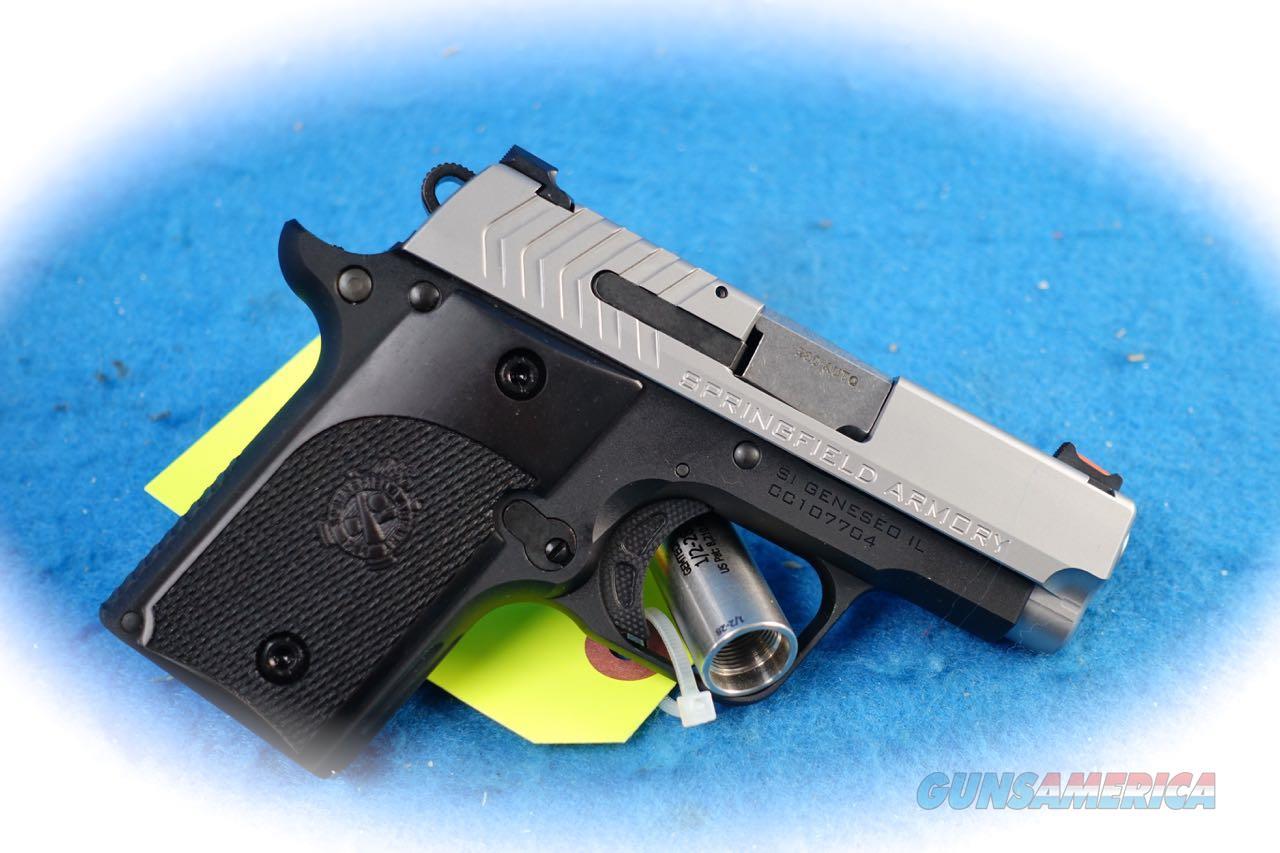 Springfield Armory 911 Alpha .380 ACP Pistol Model PG9108S **New**  Guns > Pistols > Springfield Armory Pistols > 911