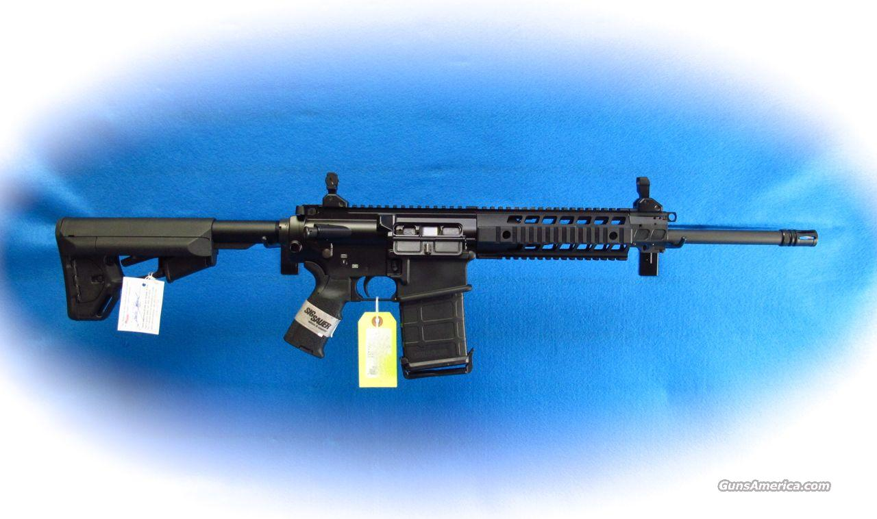 Sig Sauer 716 Patrol Semi Auto 7.62mm Rifle Black **New**  Guns > Rifles > Sig - Sauer/Sigarms Rifles
