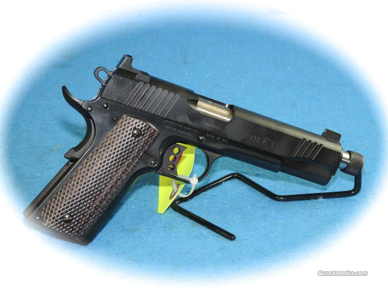 Remington 1911 R1 Enhanced Threaded Barrle .45 ACP Pistol **New**  Guns > Pistols > Remington Pistols - Modern