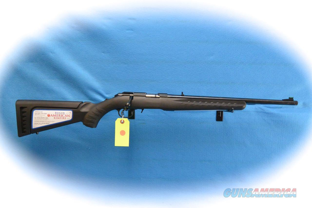 Ruger American Rimfire .17 HMR Cal Rifle W/TB **New**  Guns > Rifles > Ruger Rifles > American