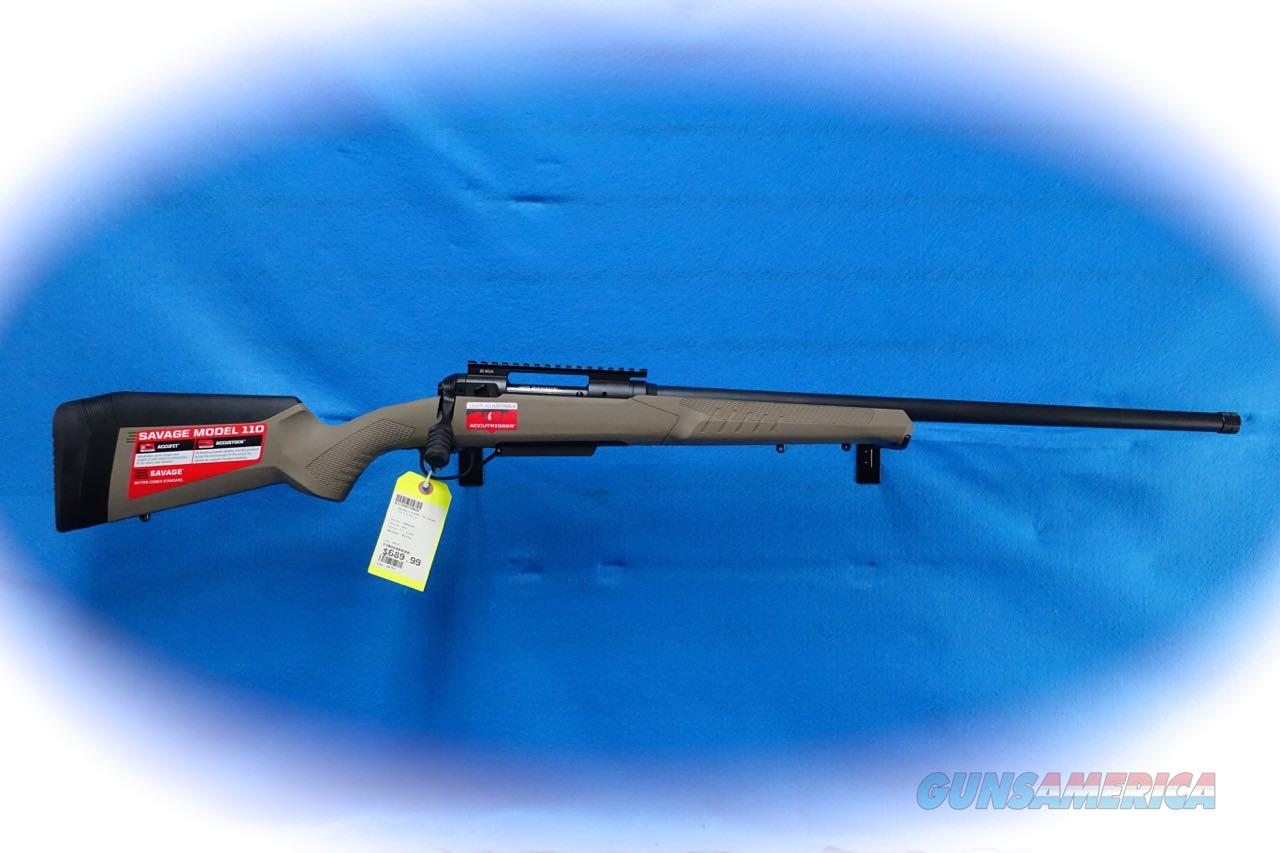 Savage Arms 110 Tactical Desert Bolt Action Rifle 6.5 Creedmoor Cal **New**  Guns > Rifles > Savage Rifles > 10/110