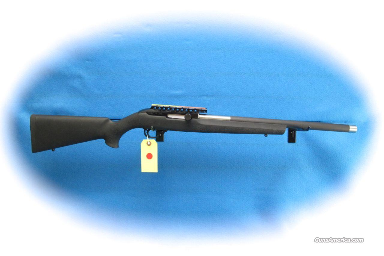 Magnum Research .22WMR Hogue Overmold Rifle **New**  Guns > Rifles > MN Misc Rifles