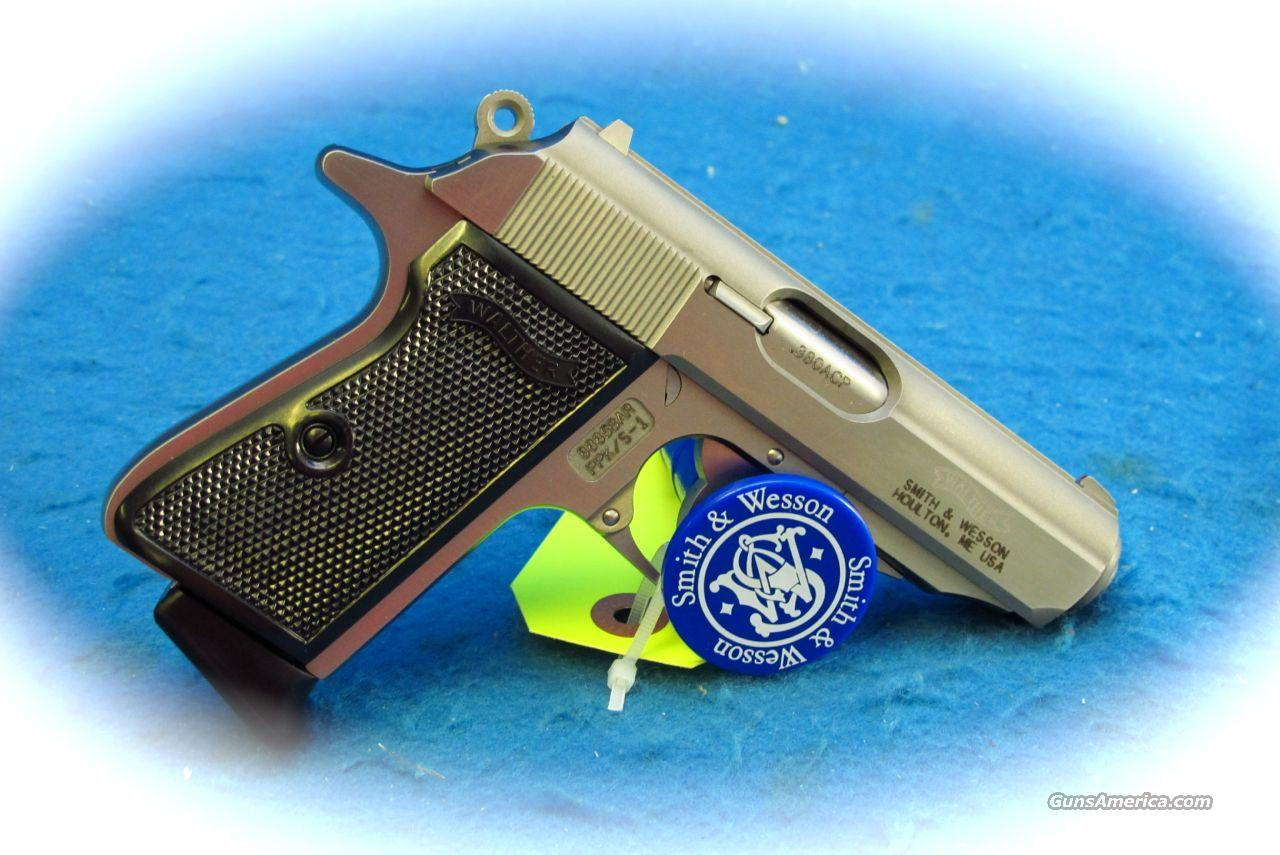 S&W Walther PPKs .380ACP Caliber Pistol SS **NEW**  Guns > Pistols > Walther Pistols > Post WWII > PPK Series