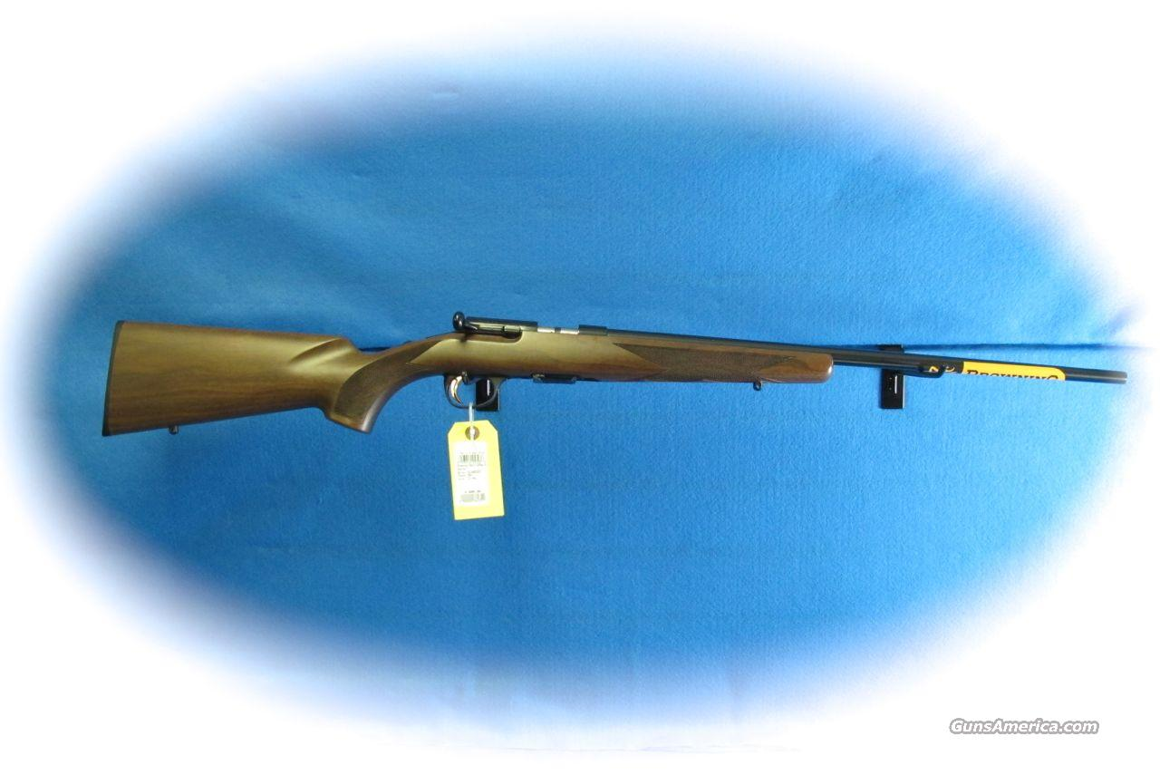 Browning Arms Co. T-Bolt Sporter .22 Magnum Rifle **New**  Guns > Rifles > Browning Rifles > Bolt Action > Hunting > Blue