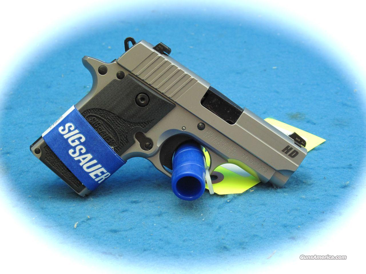 "Sig Sauer P238  ""HD"" SS 380 Cal. Pistol **New**  Guns > Pistols > Sig - Sauer/Sigarms Pistols > Other"