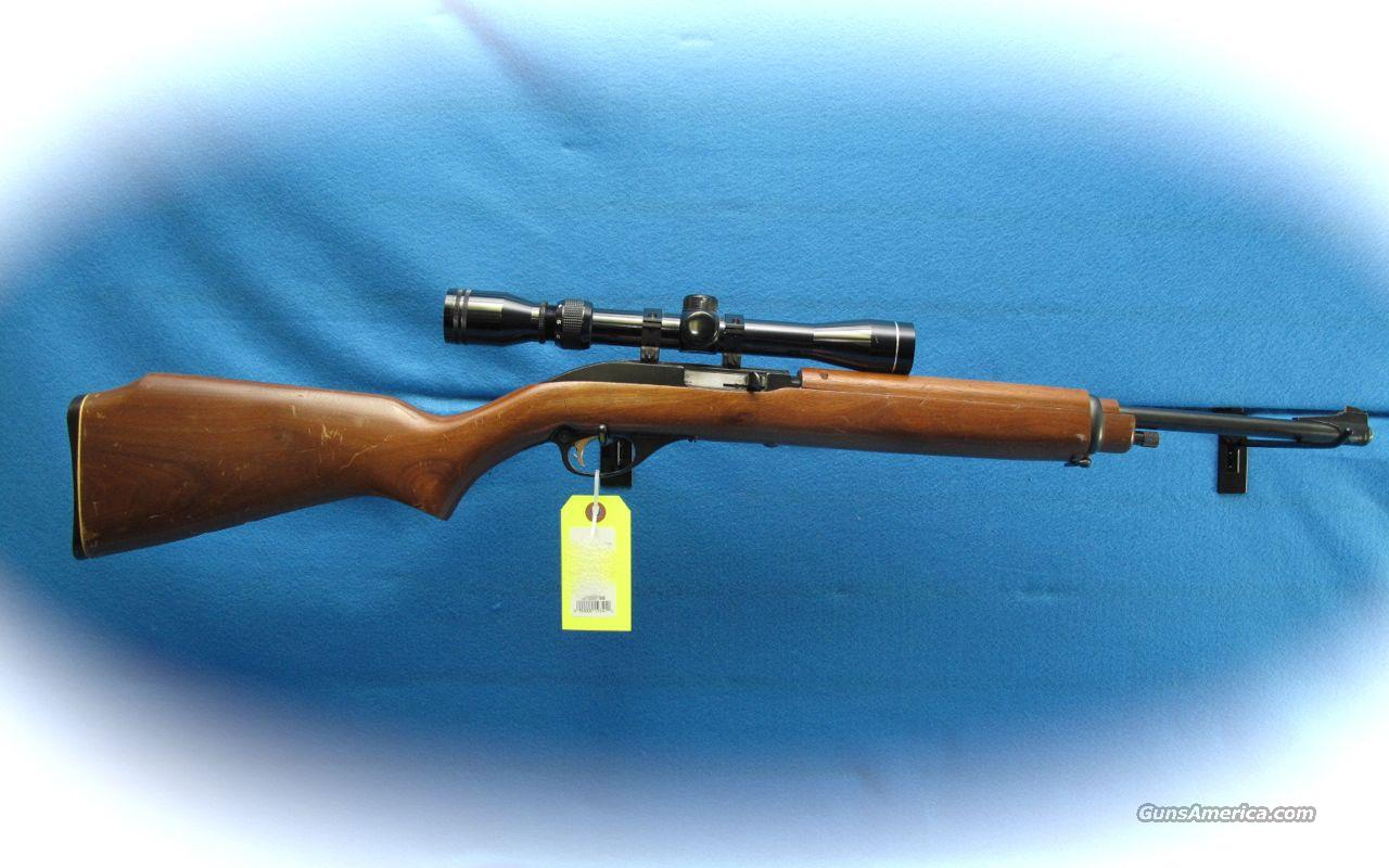 Marlin 99M 22 LR Semi Auto Rifle w/Scope **USED**  Guns > Rifles > Marlin Rifles > Modern > Semi-auto