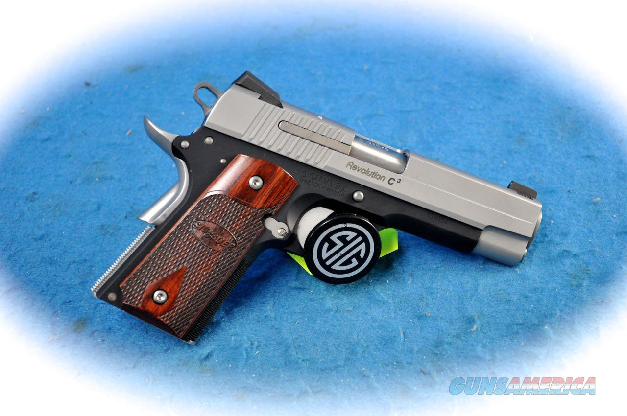 Sig Sauer 1911 Compact C3 Revolution .45 ACP Pistol **Used**  Guns > Pistols > Sig - Sauer/Sigarms Pistols > 1911