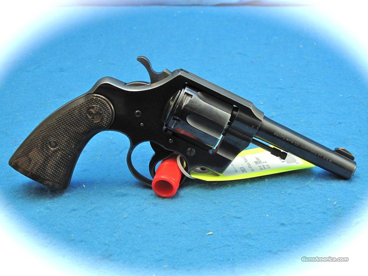 Colt Official Police 22 LR Cal Revolver Post War 4 In BBL. **USED**  Guns > Pistols > Colt Double Action Revolvers- Modern