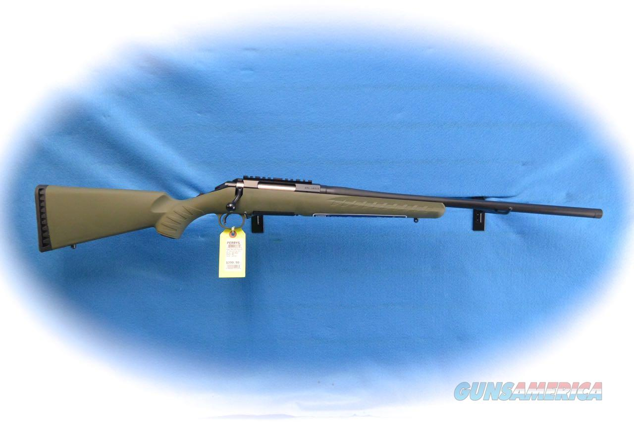 Ruger American Predator Green .243 Win Bolt Action Rifle  W/TB **New**  Guns > Rifles > Ruger Rifles > American