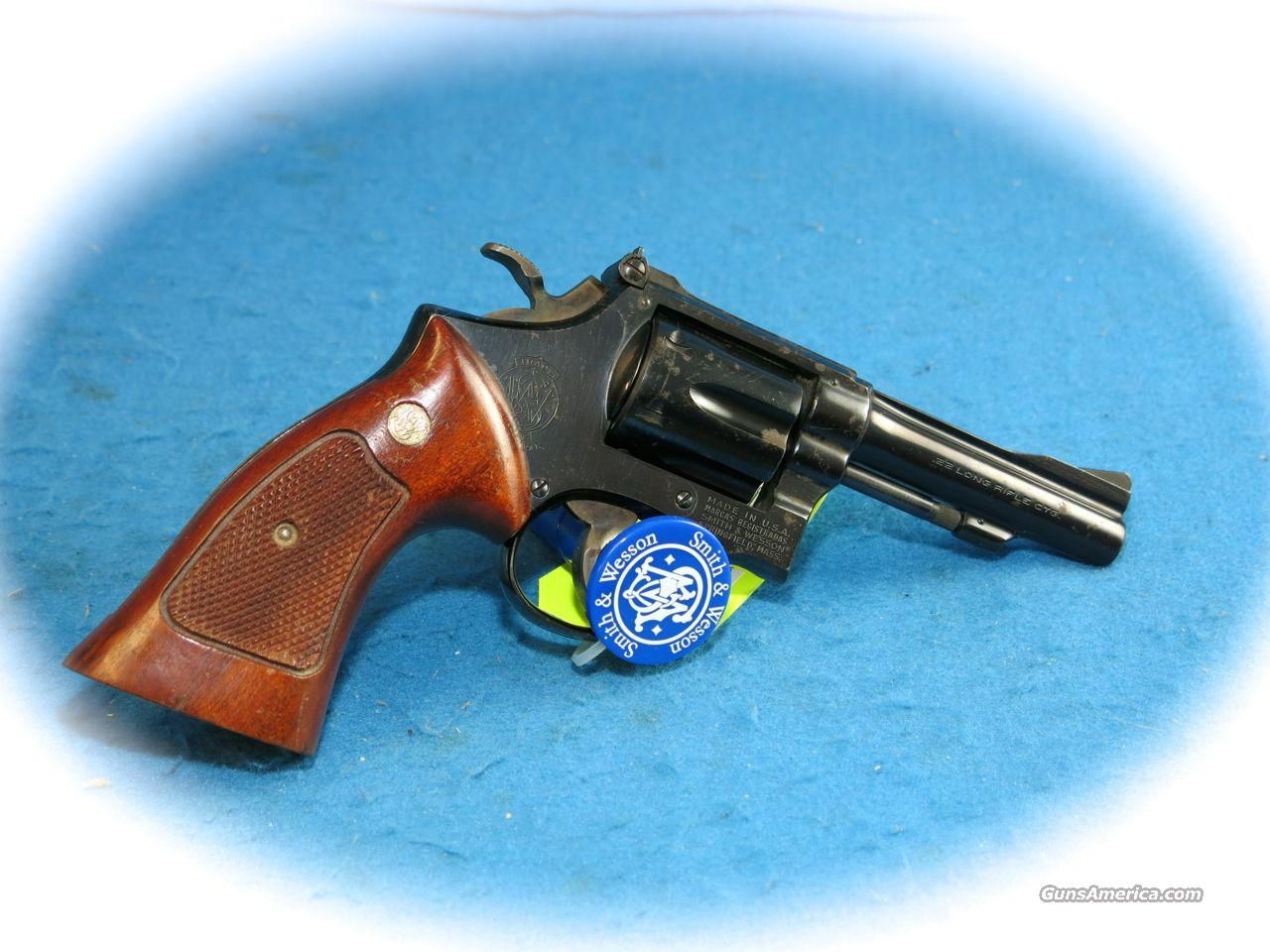 Smith & Wesson Model 18-3 .22LR Revolver **Used**  Guns > Pistols > Smith & Wesson Revolvers > Full Frame Revolver