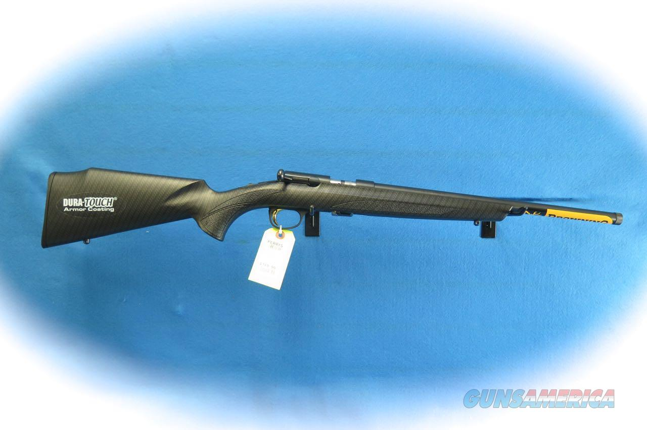 Browning T-Bolt Suppressor Ready .22 LR Bolt Action Rifle  Model 025218205 **New**  Guns > Rifles > Browning Rifles > Bolt Action > Hunting > Blue