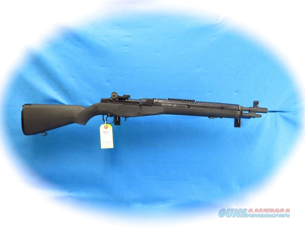 Springfield Armory M1A SOCOM 16 Black 7.62MM Cal Semi Auto Rifle  **New**  Guns > Rifles > Springfield Armory Rifles > M1A/M14