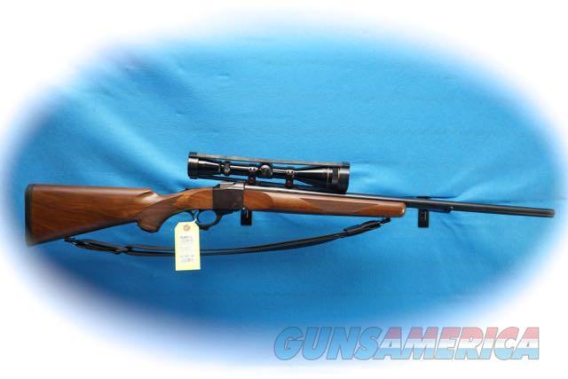 Ruger #1-V Single Shot Rifle .220 Swift Cal W/Leupold Scope **Used**  Guns > Rifles > Ruger Rifles > #1 Type