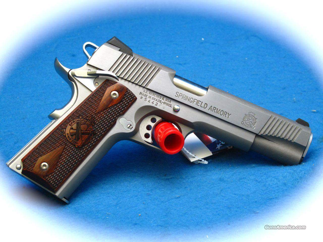 Springfield Armory Loaded Full Size 1911 45 ACP Stainless Steel **NEW**  Guns > Pistols > Springfield Armory Pistols > 1911 Type