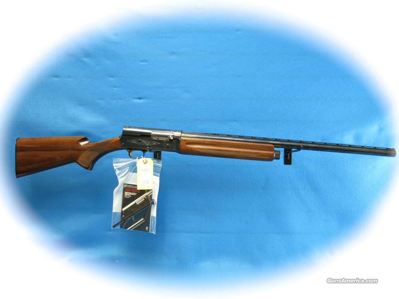 Browning Auto-5 Light Twelve .12 Ga. Semi Auto Shotgun **Used**  Guns > Shotguns > Browning Shotguns > Autoloaders > Hunting
