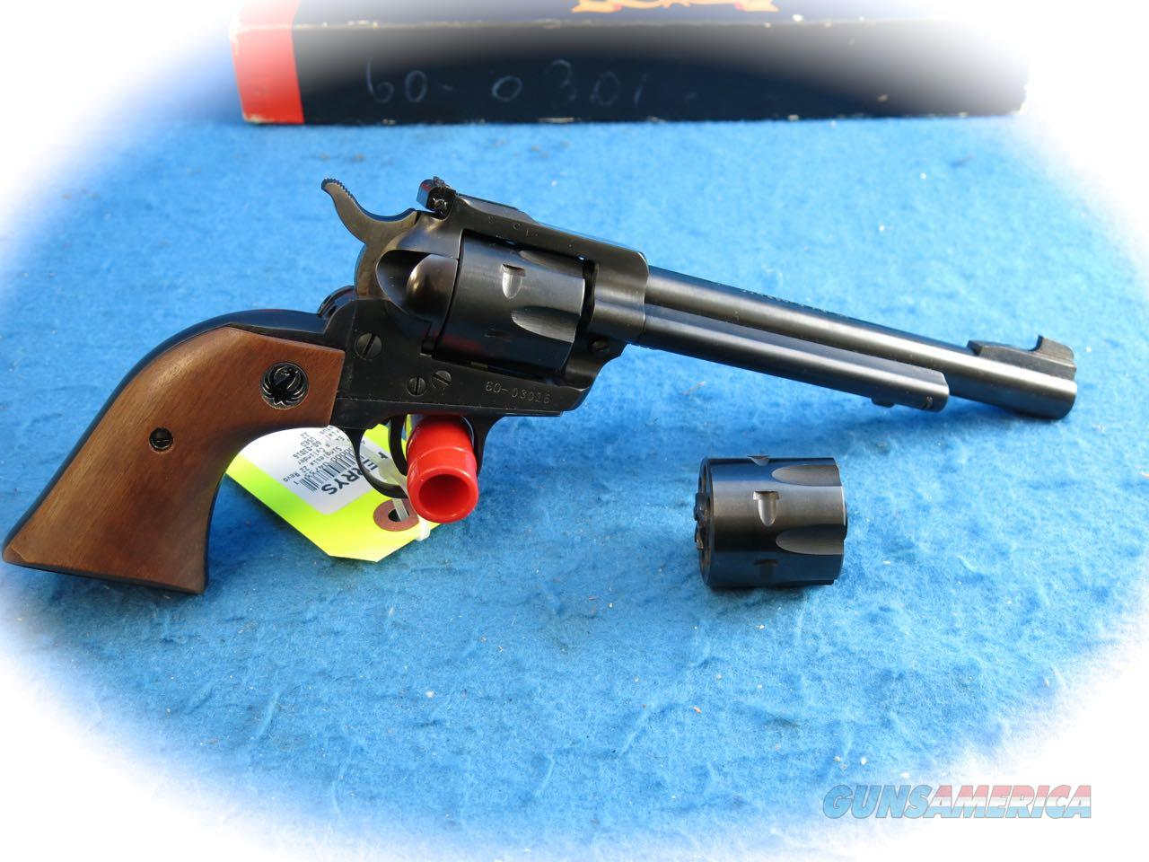 Ruger Super Single Six Convertible .22 Mag/.22LR Single Action Revolver **Used**  Guns > Pistols > Ruger Single Action Revolvers > Single Six Type
