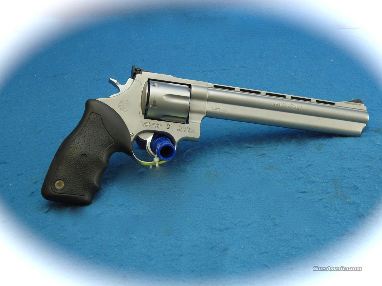 Taurus 44 Magnum SS Revolver with Ported  Barrel **Used**  Guns > Pistols > Taurus Pistols/Revolvers > Revolvers
