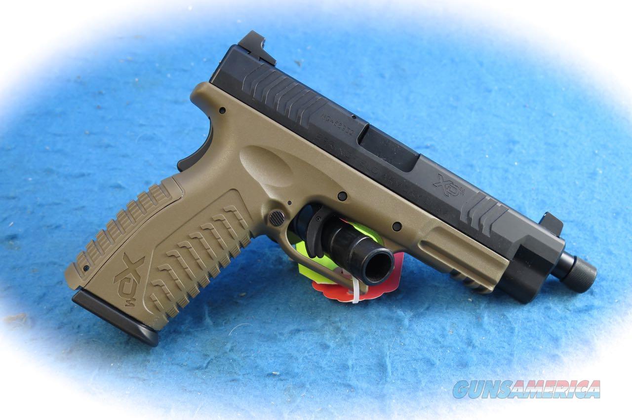 Springfield Armory XD-M 4.5  9mm Pistol FDE W/TB Model XDMT9459FDEHCE **New** On Sale  Guns > Pistols > Springfield Armory Pistols > XD-M