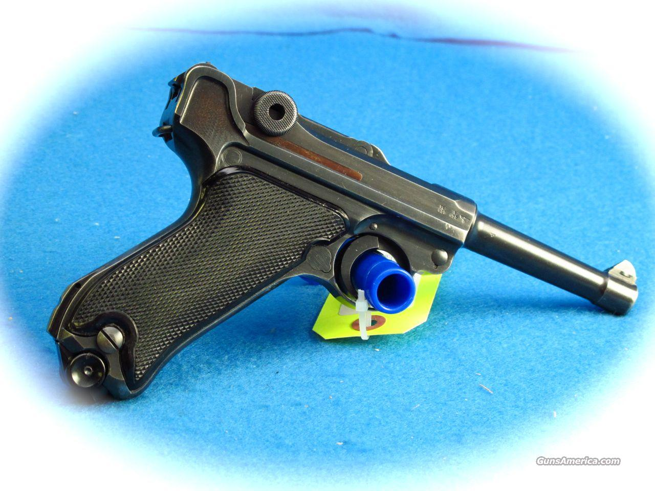 "BYF Luger P08 9mm 1941 ""Black Widow"" Nazi Marked pistol **Used**  Guns > Pistols > Luger Pistols"