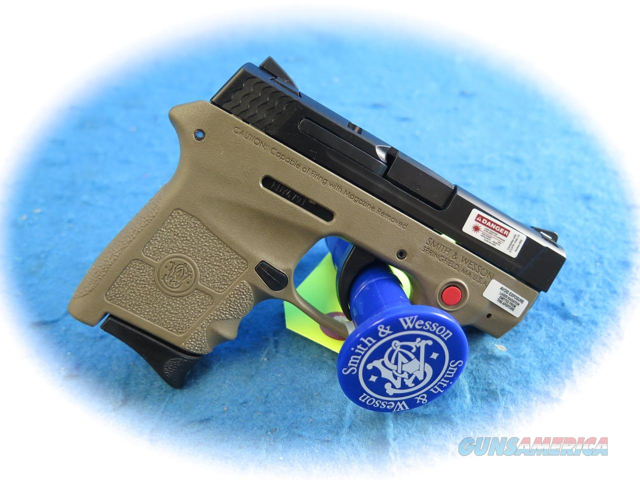 Smith & Wesson M&P Bodyguard 380 Red CT Laser FDE W/TS  SKU 10168 **New**  Guns > Pistols > Smith & Wesson Pistols - Autos > Polymer Frame