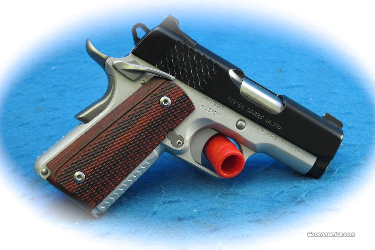 Kimber 1911 Super Carry Ultra 1911 .45 ACP PIstol **New**  Guns > Pistols > Kimber of America Pistols