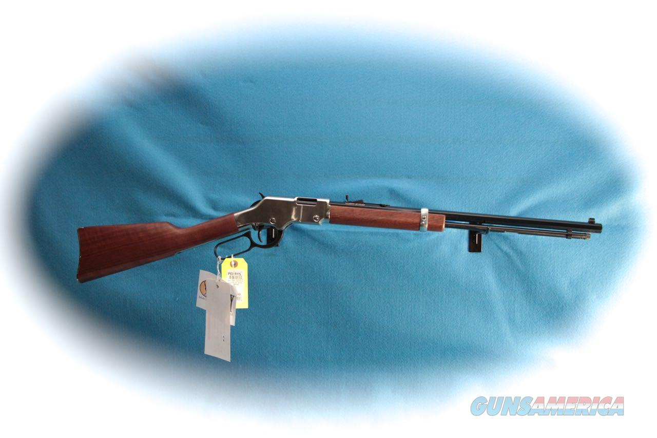Henry Repeating Arms Silver Boy .22LR Lever Action Rifle (H004S) **New**  Guns > Rifles > Henry Rifle Company