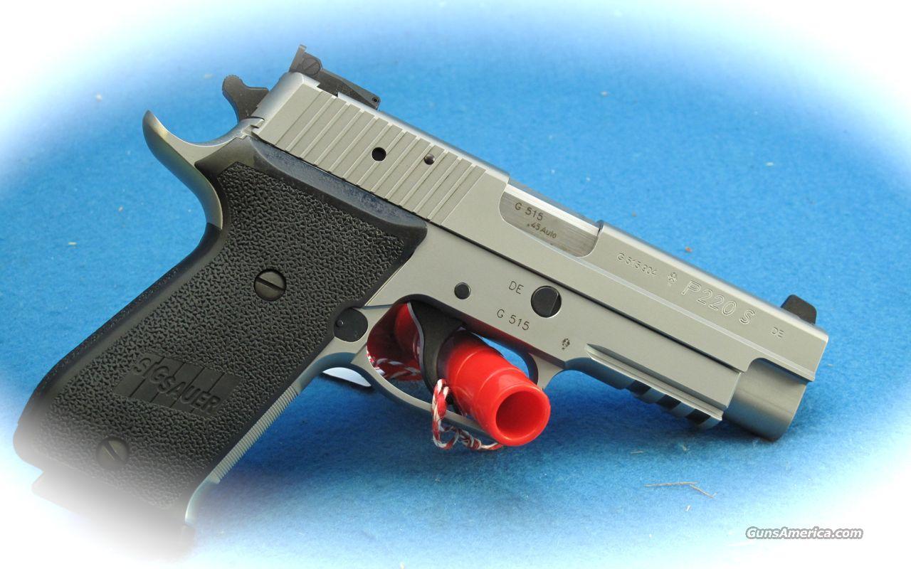 Sig Sauer P220 Sport SS 45 ACP Pistol **NEW** Guns > Pistols > Sig