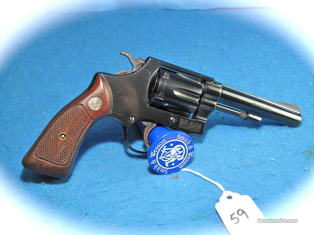 Smith & Wesson Model 31-1 32S&W Long Blue 4 Inch Revolver **Like New**  Guns > Pistols > Smith & Wesson Revolvers > Pocket Pistols