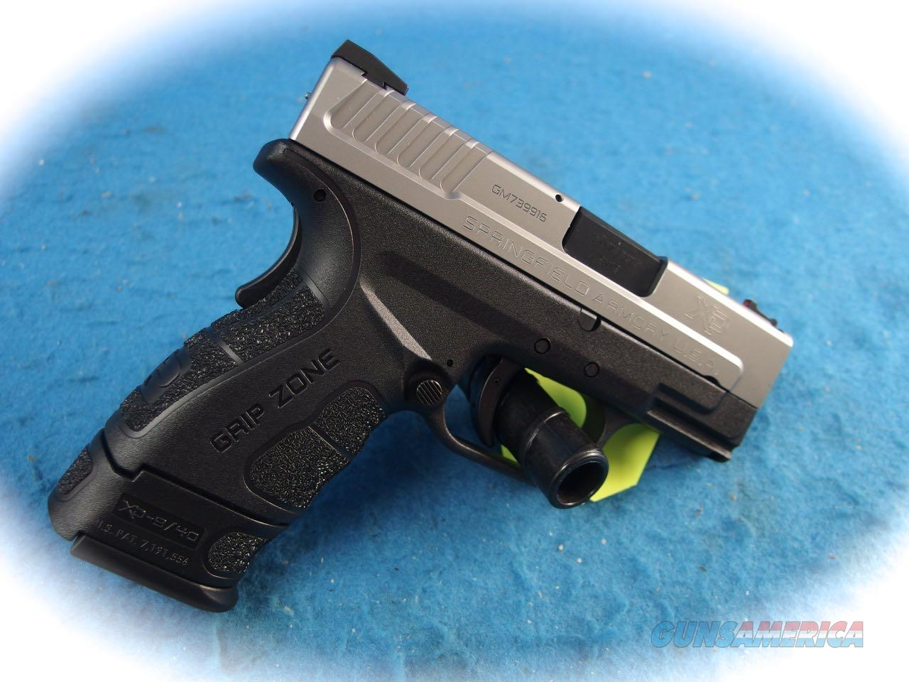 Springfield Armory XD Mod.2 3 Inch SUB-COMPACT 9MM BI-TONE **New**  Guns > Pistols > Springfield Armory Pistols > XD (eXtreme Duty)