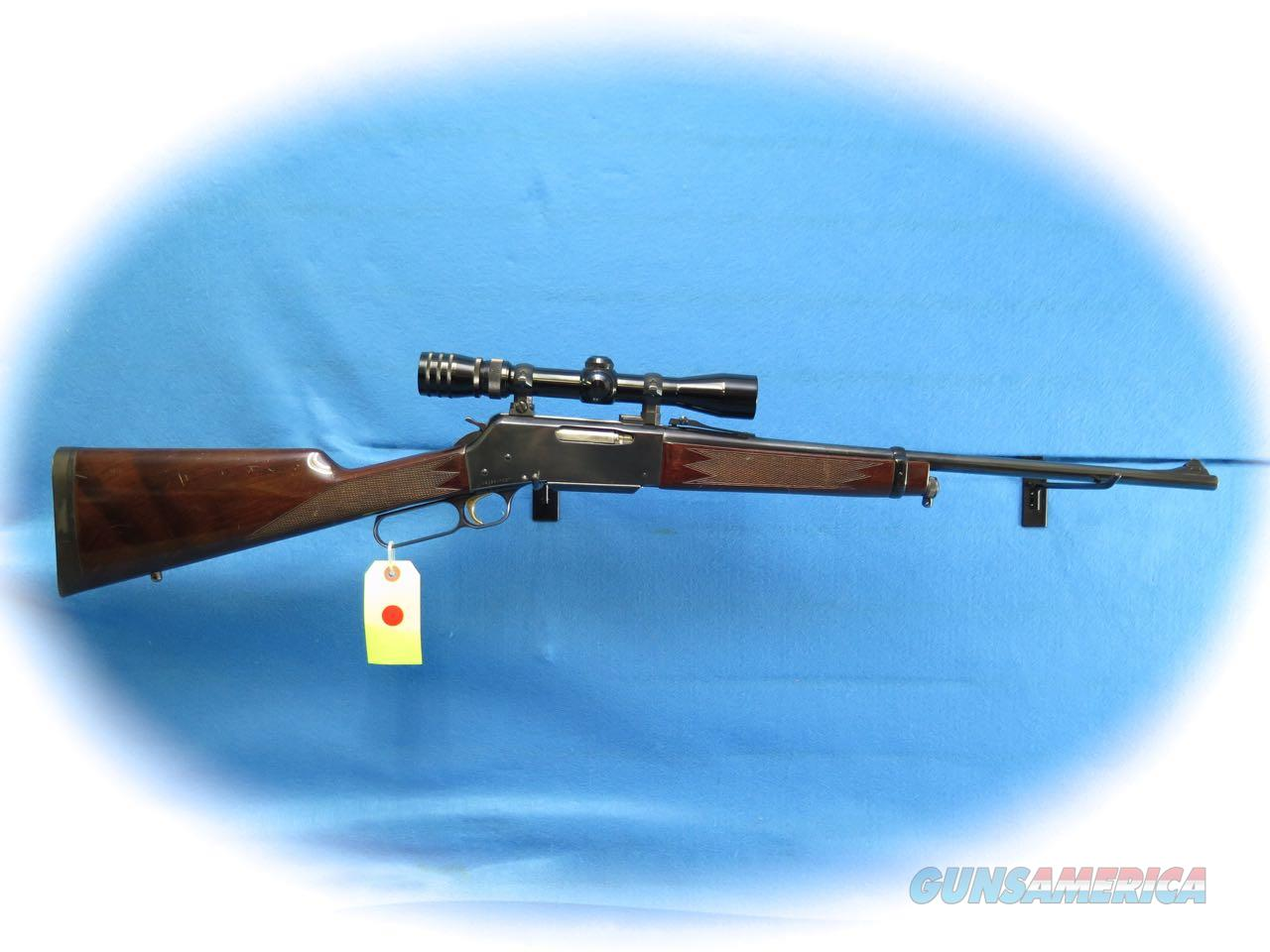 Browning Model 81 BLR Short Action Lever Rifle .243 Win Cal W/ Scope **Used**  Guns > Rifles > Browning Rifles > Lever Action