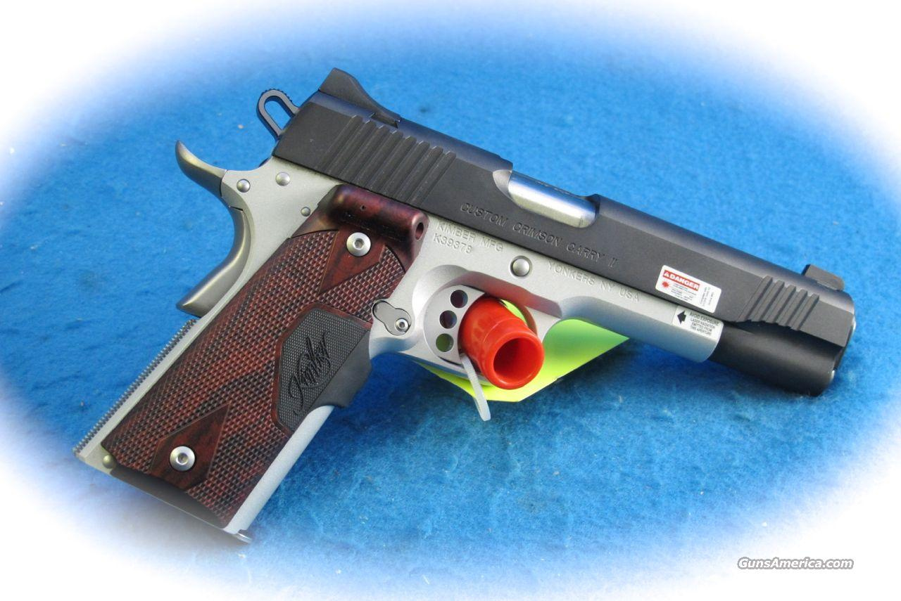 Kimber 1911 Custom Crimson Carry II .45 ACP PIstol **New**  Guns > Pistols > Kimber of America Pistols