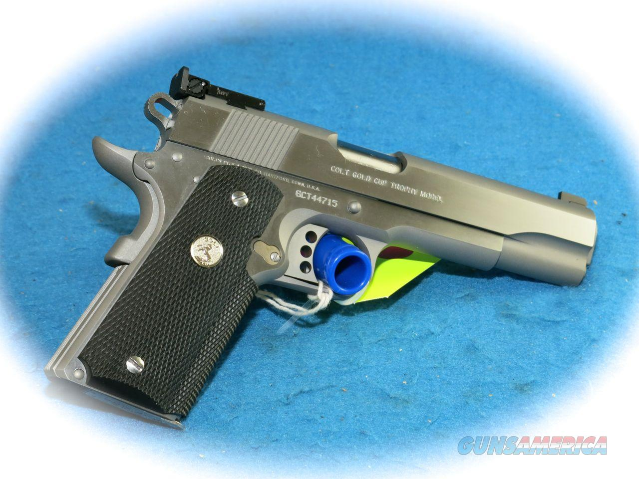 Colt 1911 Gold Cup Trophy .45 ACP SS Pistol **New** ON SALE  Guns > Pistols > Colt Automatic Pistols (1911 & Var)