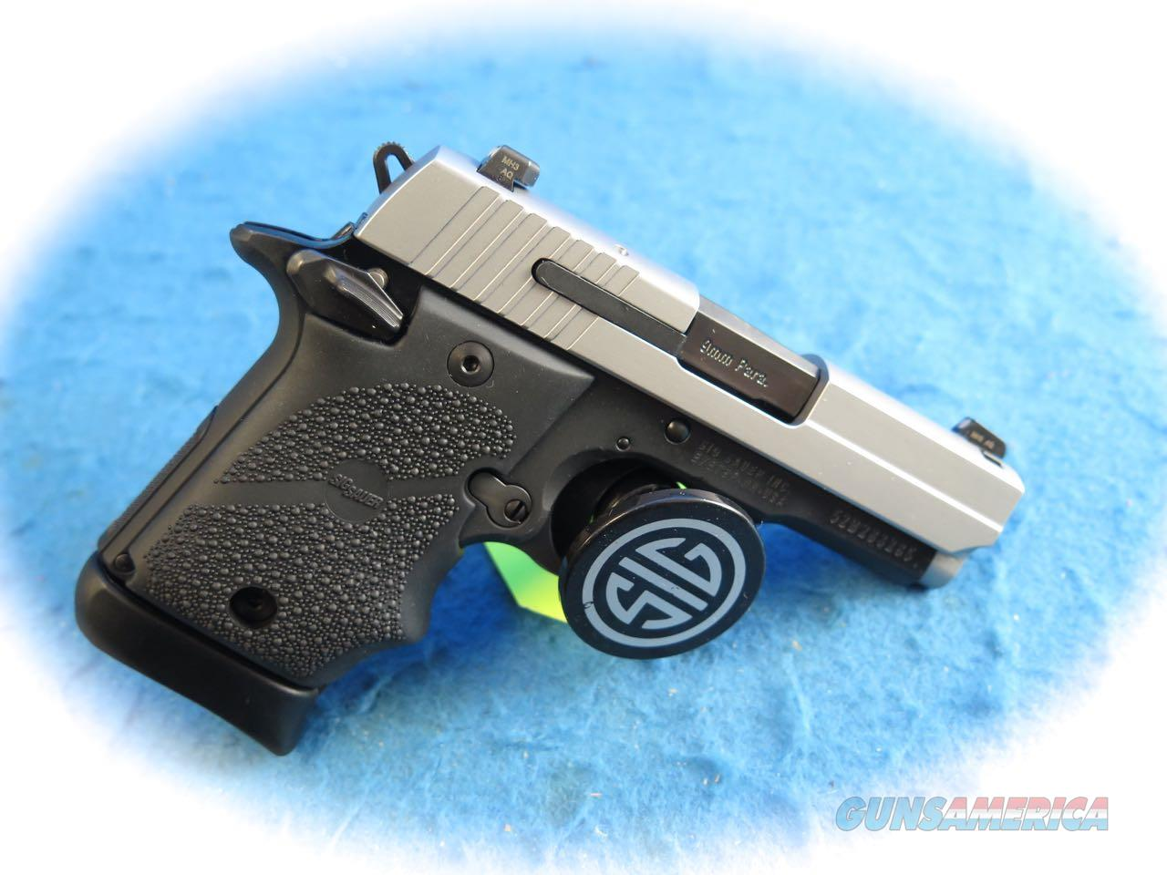 Sig Sauer P938 2-Tone 9mm Micro Compact Pistol **New**  Guns > Pistols > Sig - Sauer/Sigarms Pistols > P938