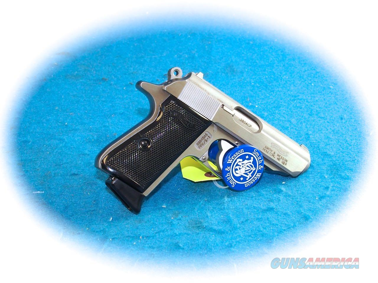 Walther PPK/s (S&W MFG) .380 ACP SS Pistol **Used**  Guns > Pistols > Walther Pistols > Post WWII > PPK Series