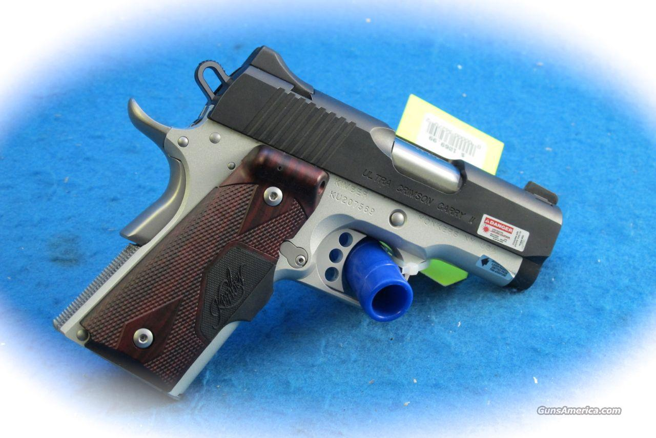 Kimber 1911 Ultra Crimson Carry II .45 ACP PIstol **New**  Guns > Pistols > Kimber of America Pistols