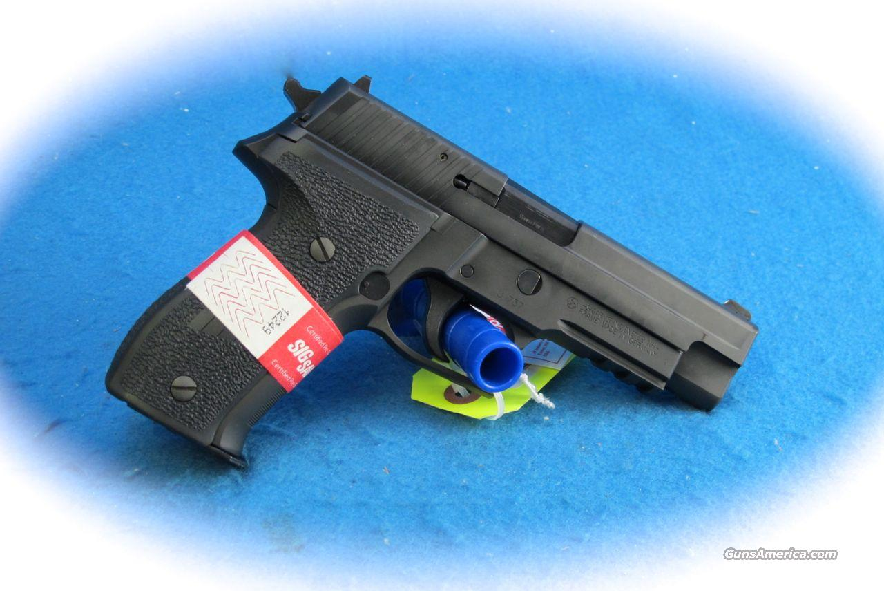 Sig P226 9mm W/Rail Certified Pre-Owned **CPO**  Guns > Pistols > Sig - Sauer/Sigarms Pistols > P226