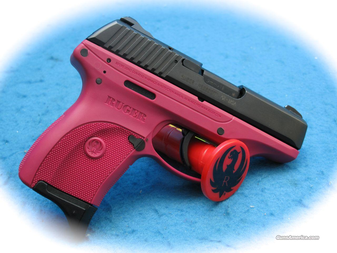 Ruger LC9 9mm Pistol Rasberry Color **New**  Guns > Pistols > Ruger Semi-Auto Pistols > LC9