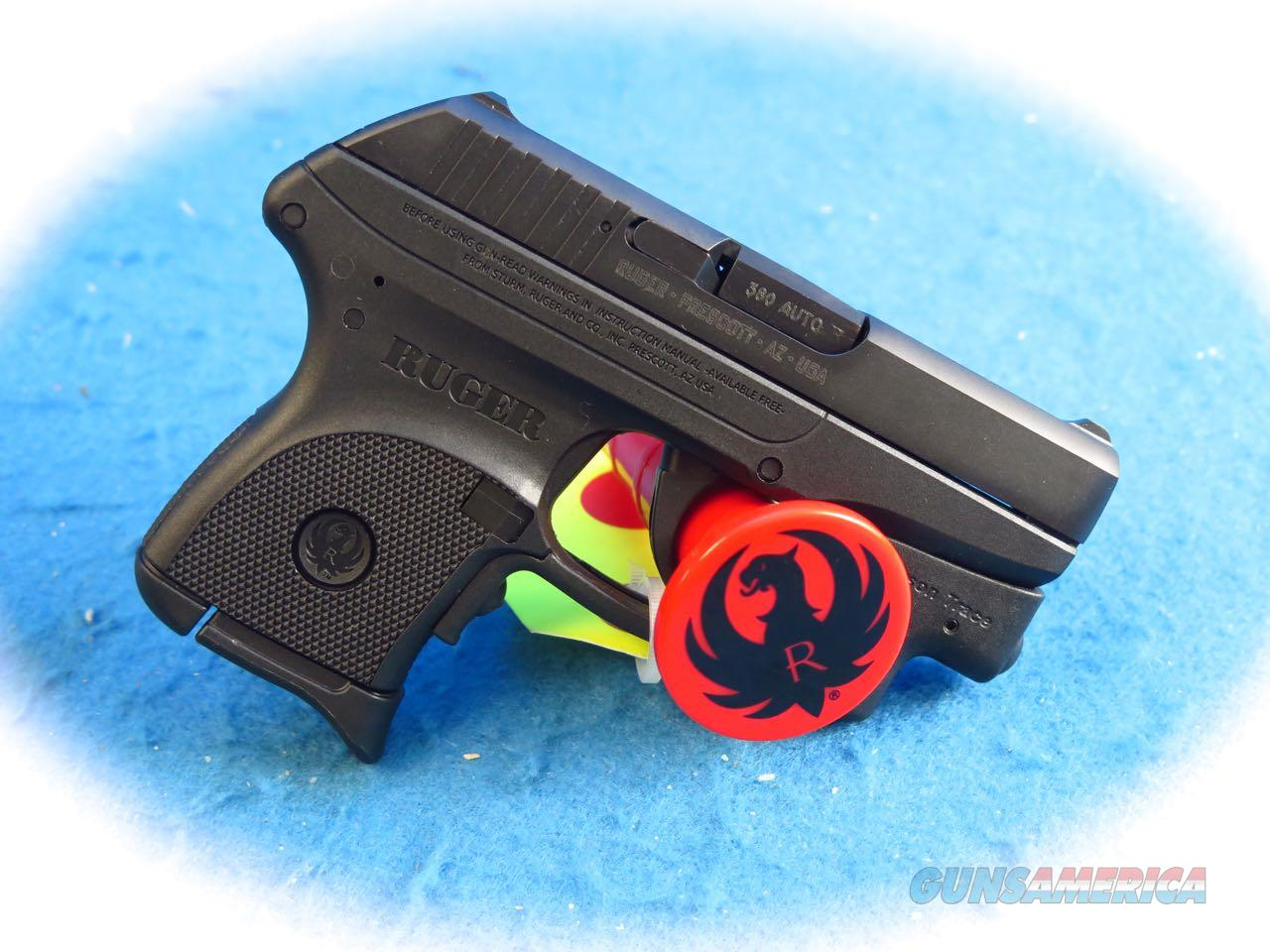 Ruger LCP-CT .380 ACP Pistol W/Crimson Trace Laser Model 3713 **New**  Guns > Pistols > Ruger Semi-Auto Pistols > LCP