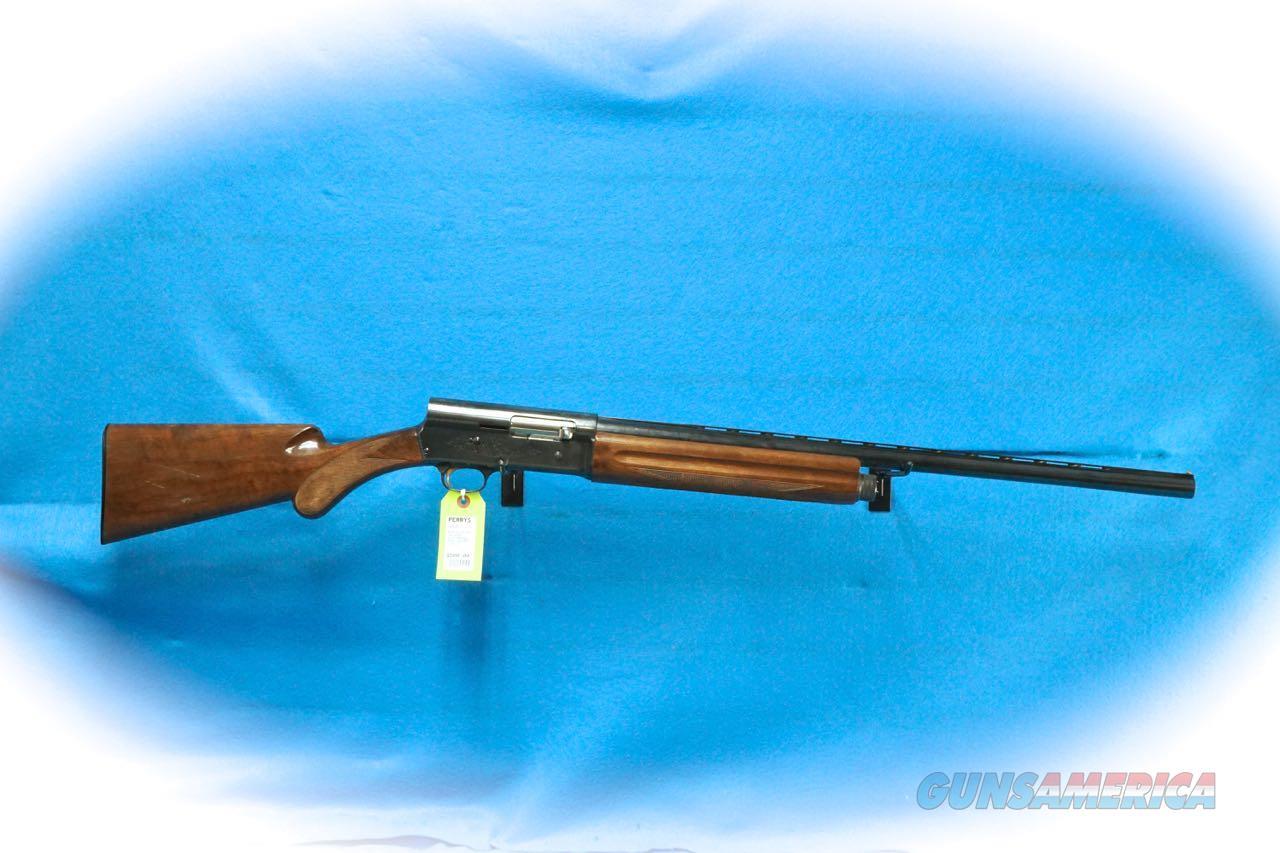 Browning Auto-5 Light Twelve 12 Ga. Shotgun **Used**  Guns > Shotguns > Browning Shotguns > Autoloaders > Hunting