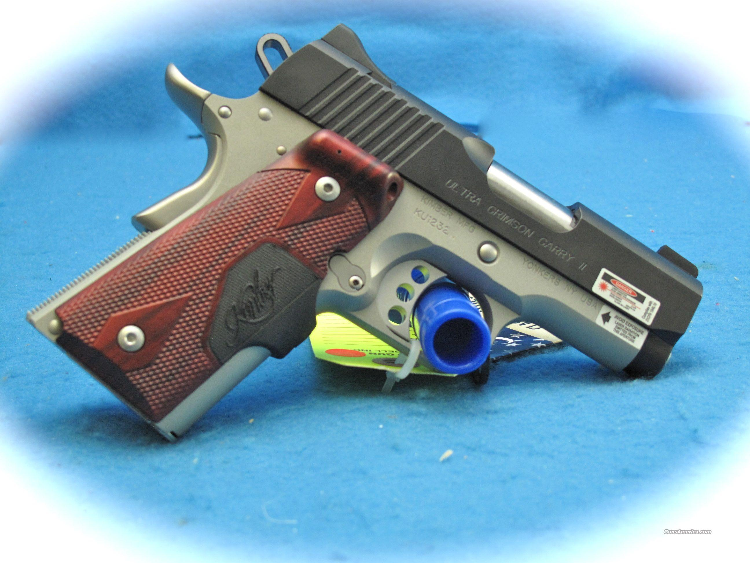 Kimber Ultra Crimson Carry II 45 ACP **NEW**  Guns > Pistols > Kimber of America Pistols