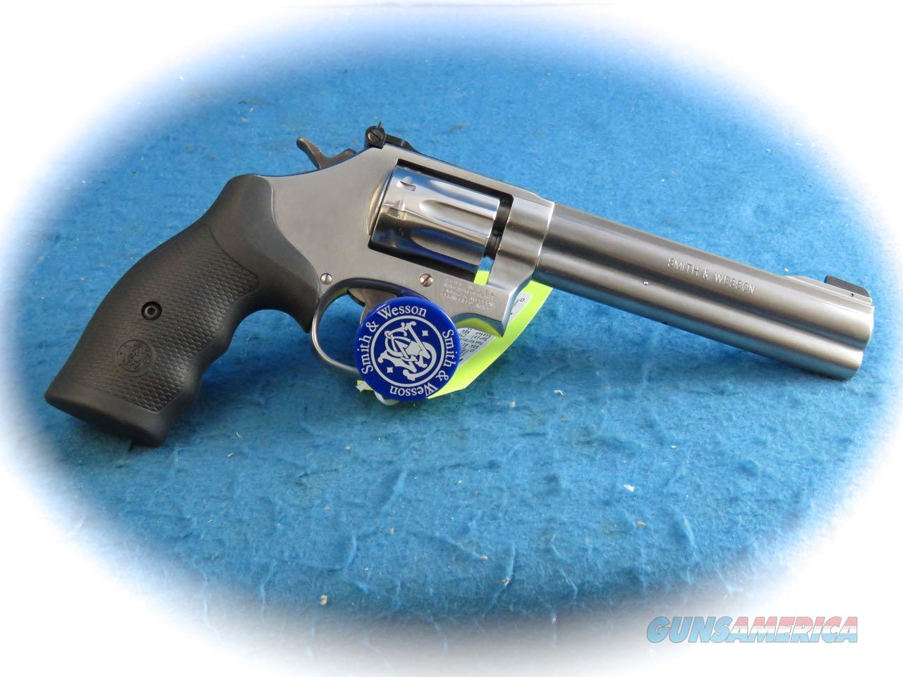 Smith & Wesson Model 617 .22LR 10 Shot SS Revolver **New**  Guns > Pistols > Smith & Wesson Revolvers > Full Frame Revolver