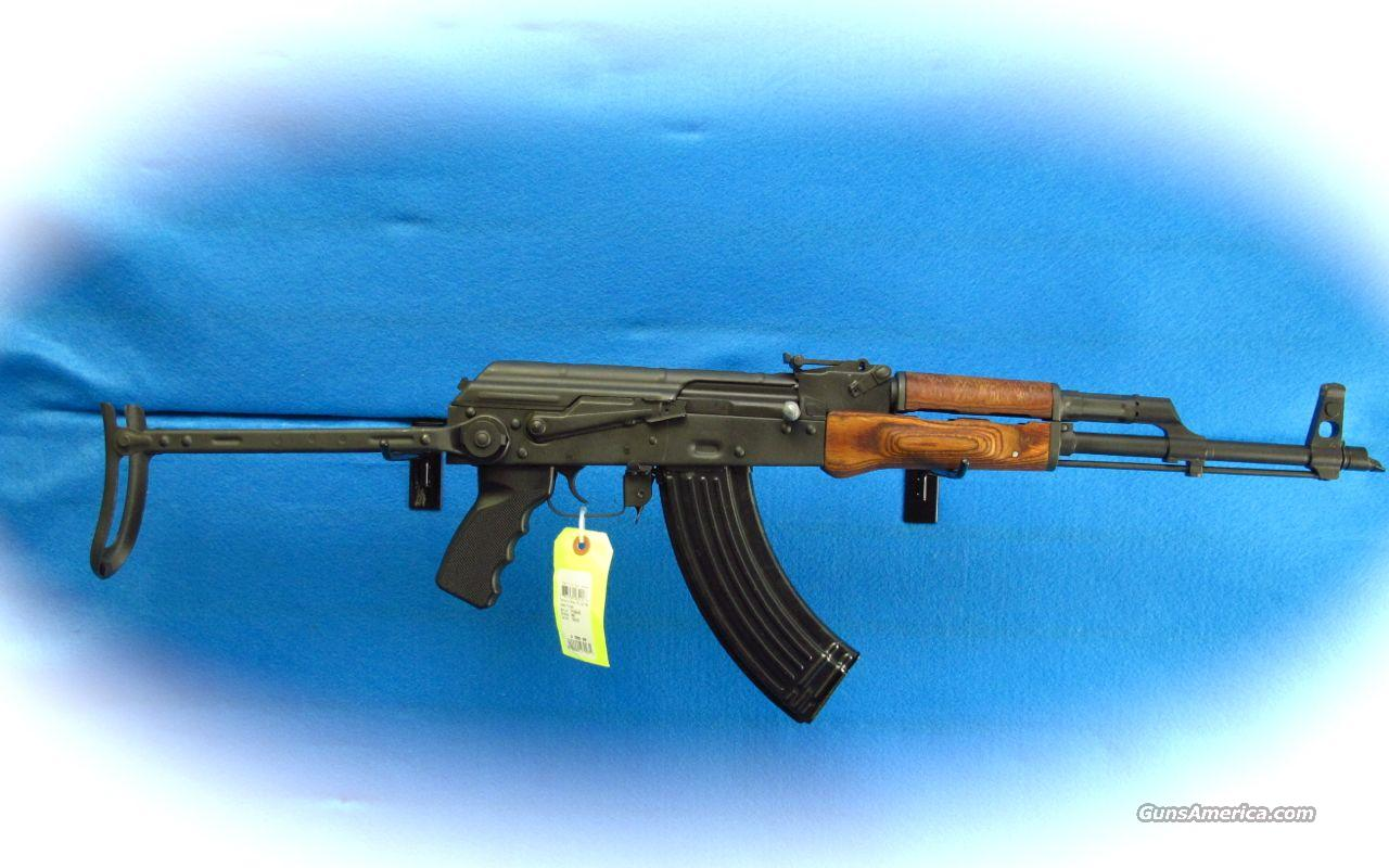 Century Arms AKMS Polish Underfolder 7.62x39MM Rifle **as New**  Guns > Rifles > Century International Arms - Rifles > Rifles