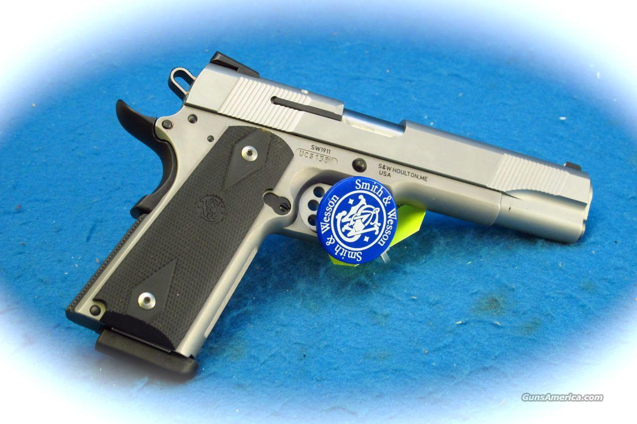 Smith & Wesson SW1911 .45ACP SS Pistol **New**  Guns > Pistols > Smith & Wesson Pistols - Autos > Steel Frame